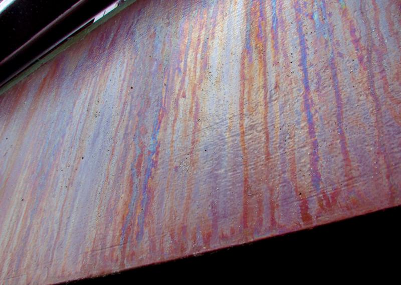 coating staining