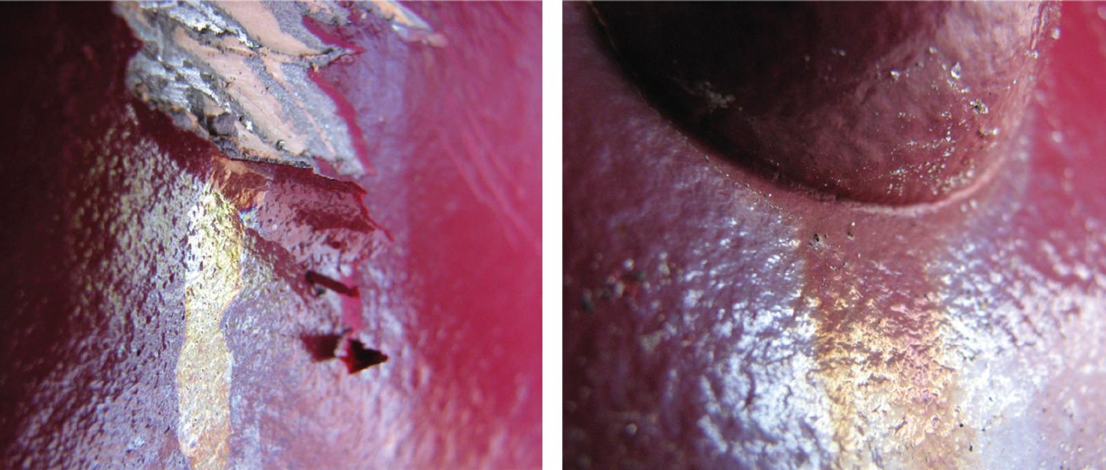 stain streak coatings