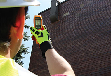 Properly Monitor Temperature and Humidity on an Industrial Coating Project