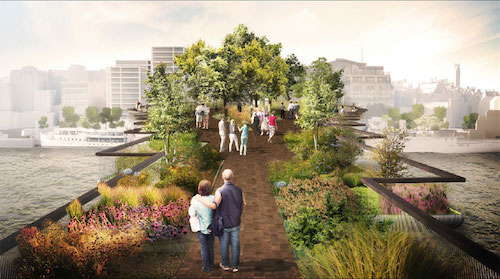 Garden Bridge rendering