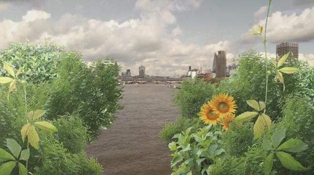 Garden Bridge rendering