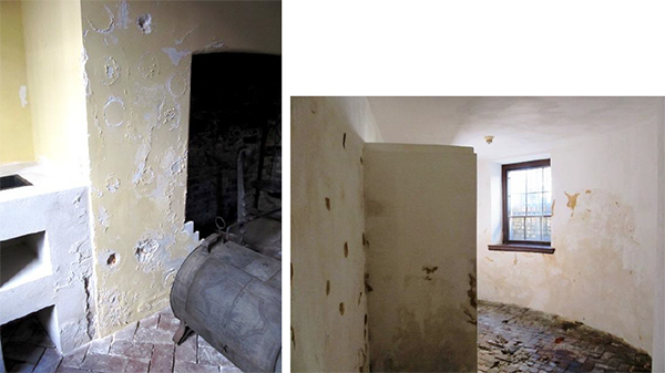 moisture in walls