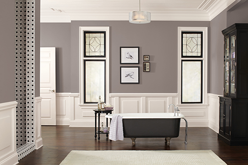 Taupe Bathroom