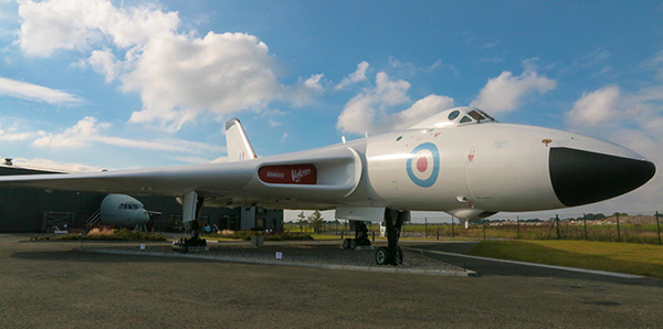 Avro bomber finished