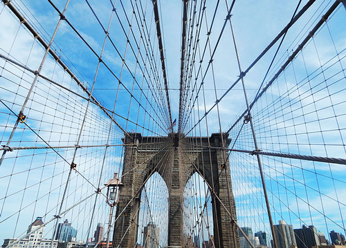 Brooklyn Bridge cables