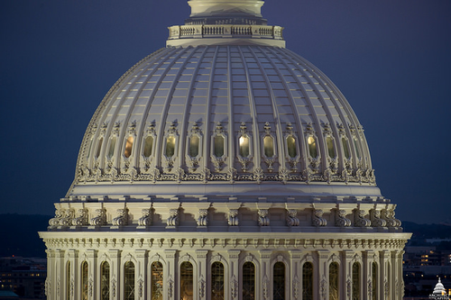 US Capitol after restoration