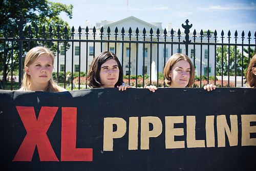 KXL protest