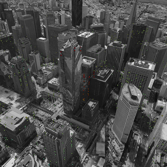 Millennium Tower satellite image