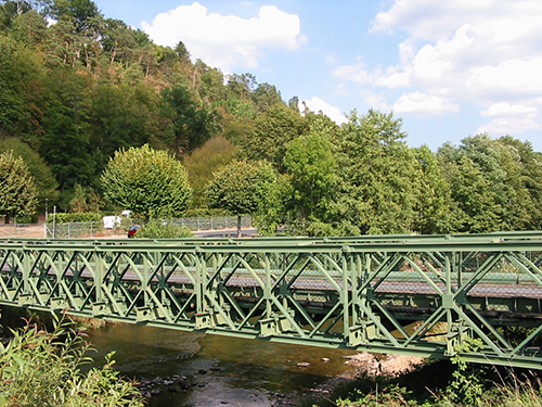Bailey Bridge in France