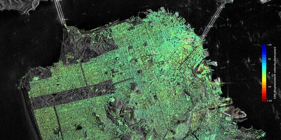 San Francisco satellite image