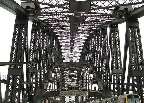 Sydney Harbour bridge arch