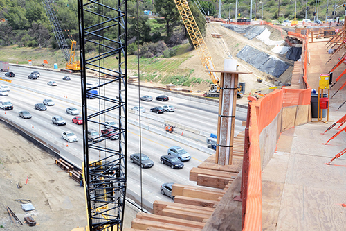 I-405 construction
