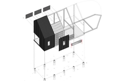 Backcountry Hut plan