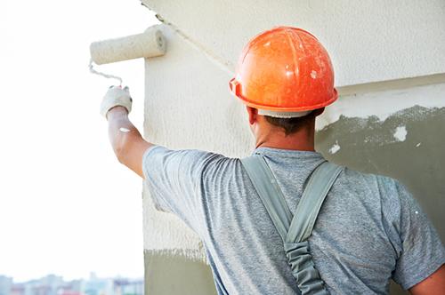 plaster application