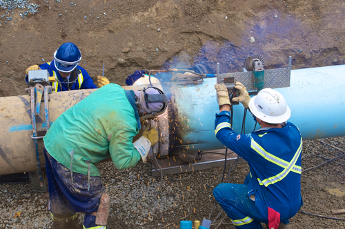 Trans Mountain Pipeline maintenance