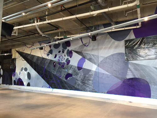 US Bank Stadium mural