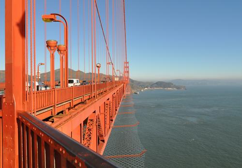 Golden Gate suicide deterrent rendering