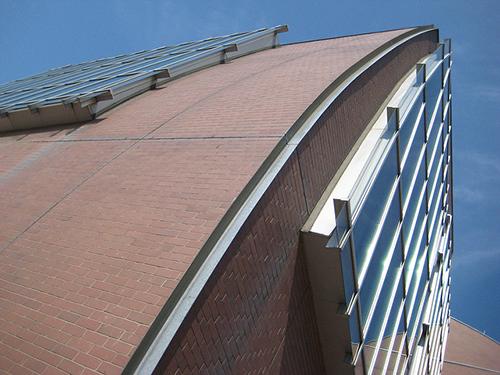 curved facade