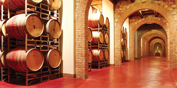 Flowcrete wineries