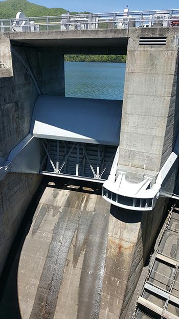 TVA spillway