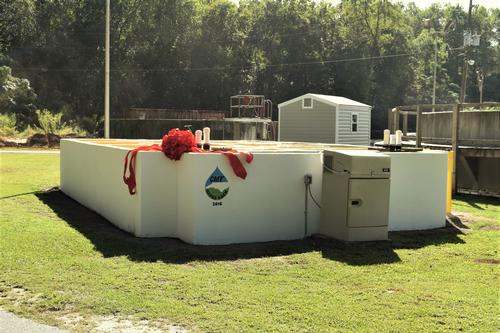 St. Pauls NC wastewater plant
