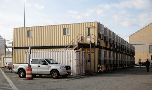 Norfolk Shipyard offices