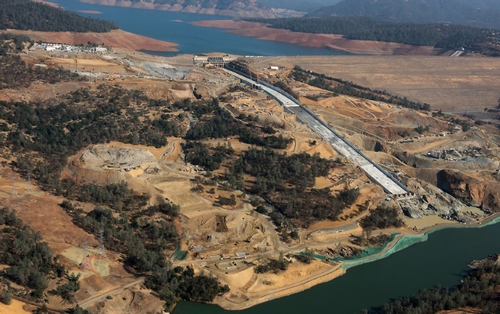 Oroville Dam First-Year Repairs Complete : PaintSquare News