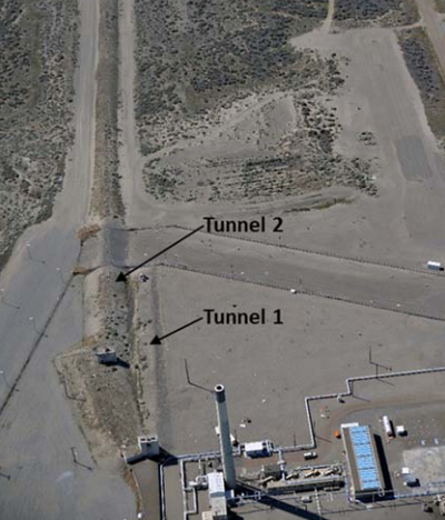 Hanford site tunnel collapse