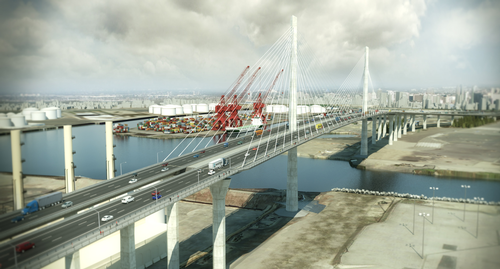 Gerald Desmond Bridge rendering