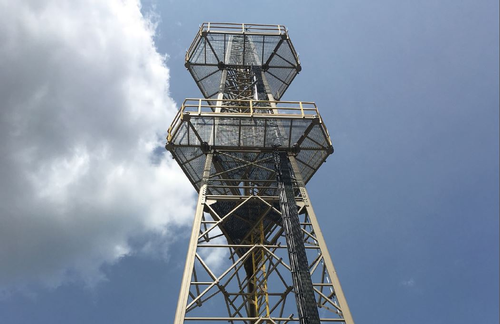 Composite communications tower
