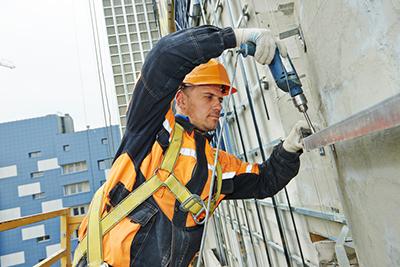 building facade work