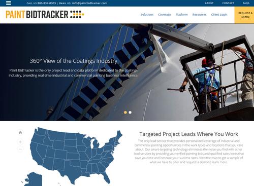 Paint BidTracker site