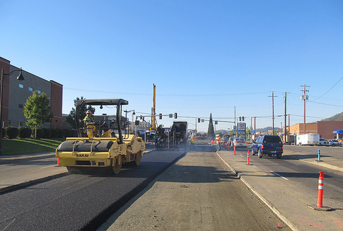 ODOT construction site