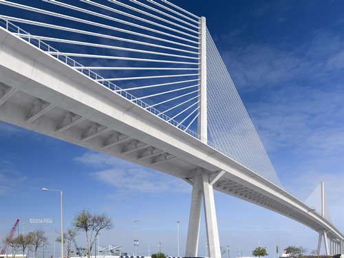 Harbor Bridge rendering