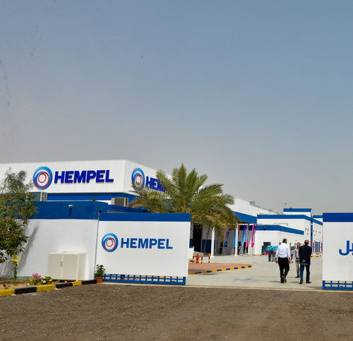 Hempel Kuwait factory
