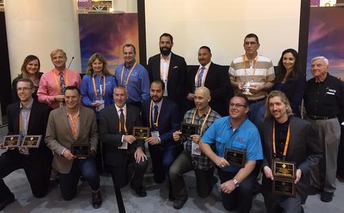 CoatingsPro Contractor Award winners