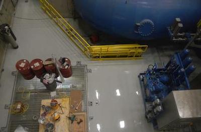 Generating statio floor