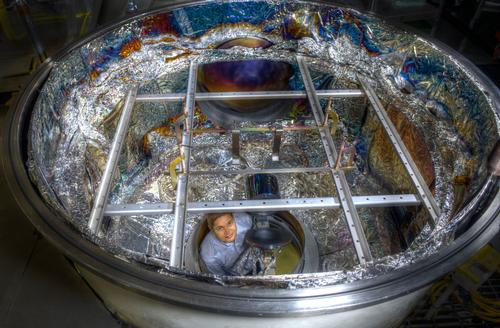 NASA coating chamber