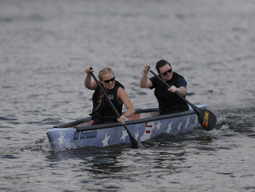 Concrete canoe championship 2016