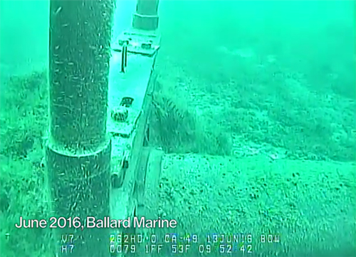 Line 5 underwater