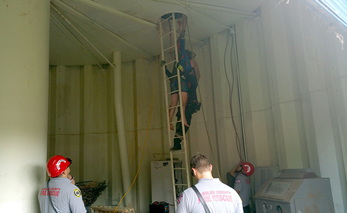 Water tank rescue