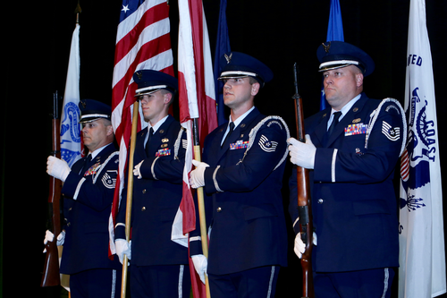 Air National Guard color guard