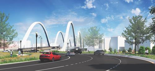 Douglass Bridge rendering