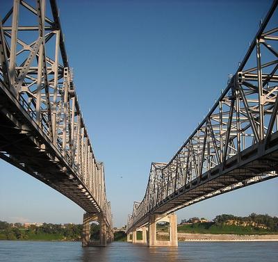 Natchez Vidalia bridges