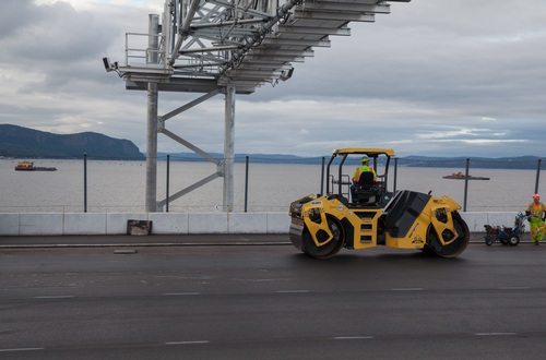 Tappan Zee span nearing completion