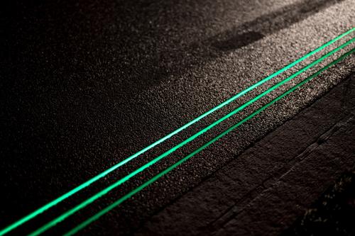 Glow in the Dark Road (Netherlands)