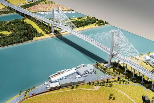 Massey Bridge rendering