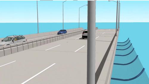 Coronado bridge rendering