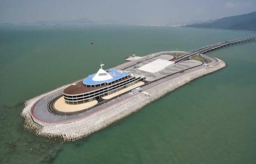 HKZM tunnel island