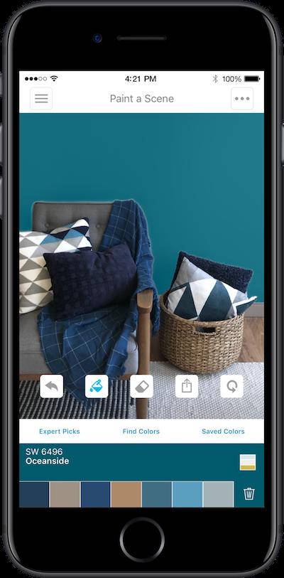 ColorSnap app